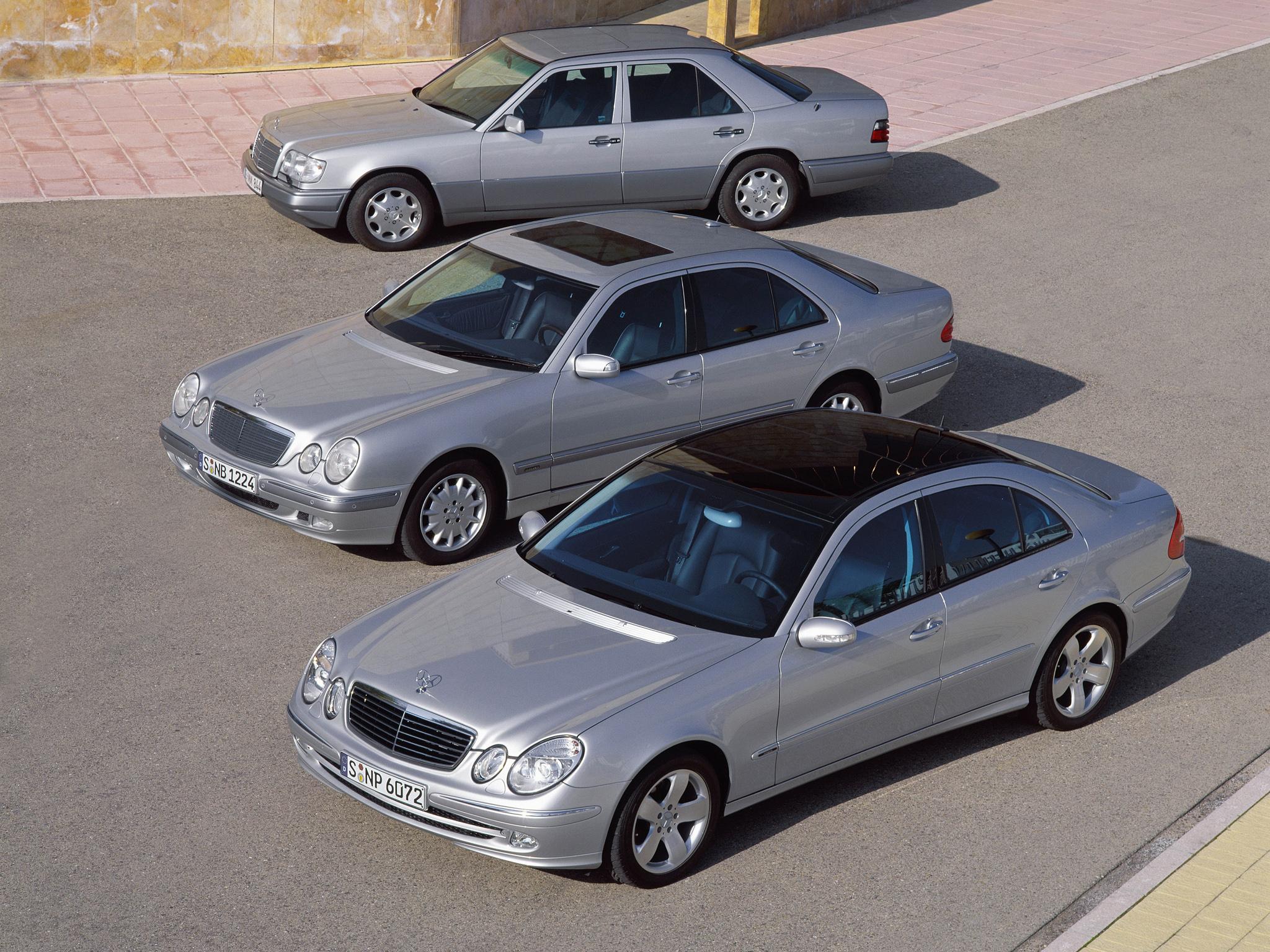 Mercedes Klasy E – niemiecka solidność